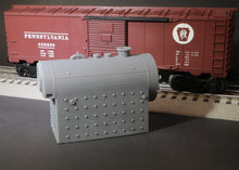 Load image into Gallery viewer, O Scale Birchfield Industrial Fire Tube Boiler Flatcar Load