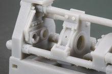 Load image into Gallery viewer, HO Scale Loewy Hydropress Horizontal Hydraulic Extrusion Press Flatcar Load