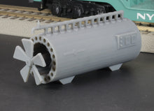 Load image into Gallery viewer, 1:64 S Scale 1962 General Electric Turboencabulator Flatcar Load