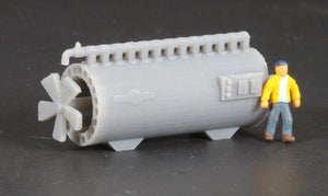 N Scale 1962 General Electric Turboencabulator Flatcar Load