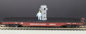 HO Scale Bethlehem Steel Cast Valve Body Railroad Flatcar Load