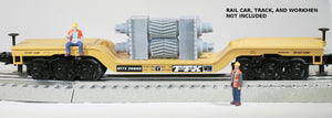 O Scale Double Helical Cut Tooth Mill Pinions Model Railroad Flatcar Load