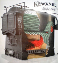 Load image into Gallery viewer, N Scale Kewanee Type C Industrial Fire Tube Boiler Flatcar Load