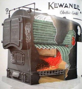 O Scale Kewanee Type C Industrial Fire Tube Boiler Flatcar Load