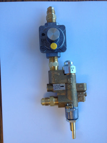 Copreci Gas Control Valve includes NG pilot regulator & all fittings - Natural Gas READY