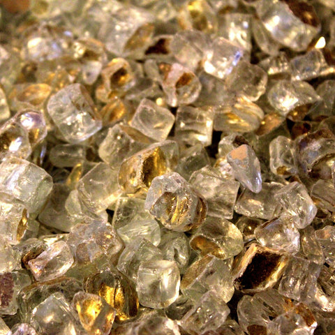 Gold Fire Glass