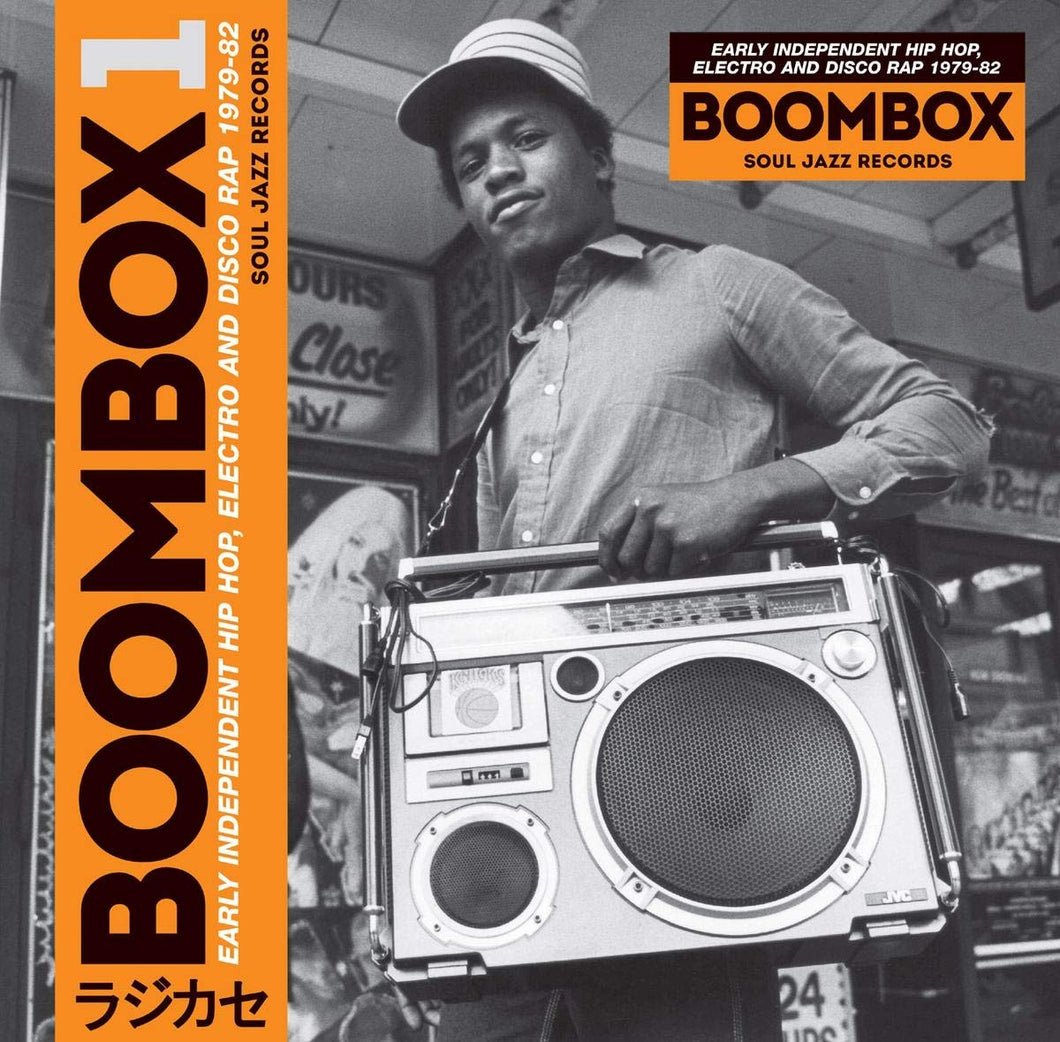 Various Artists - Boombox 1: Early Independent Hip Hop, Electro And Disco Rap 1979-82 | 3LP