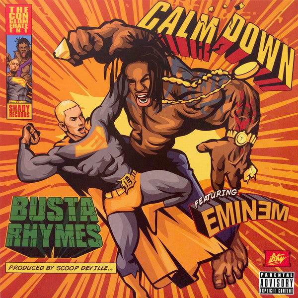 Busta Rhymes - Calm Down | Vinyl Verde [RSD17]