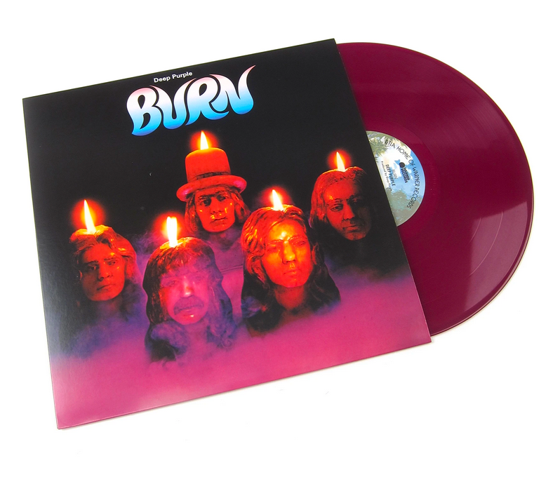 Deep Purple - Burn | Color Morado - Rocktober 2019 (Limitado a 2,600 copias)