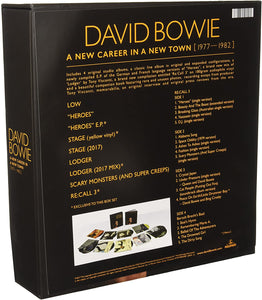 David Bowie ‎– A New Career In A New Town (1977-1982) | Boxset