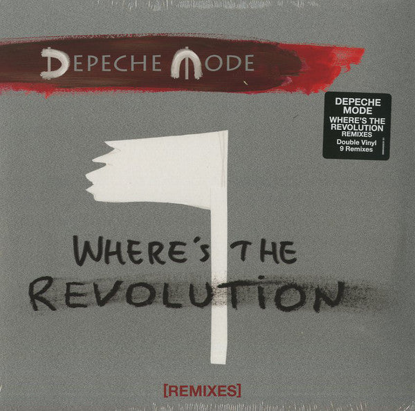 Depeche Mode ‎- Where's The Revolution [Remixes] | 2LP
