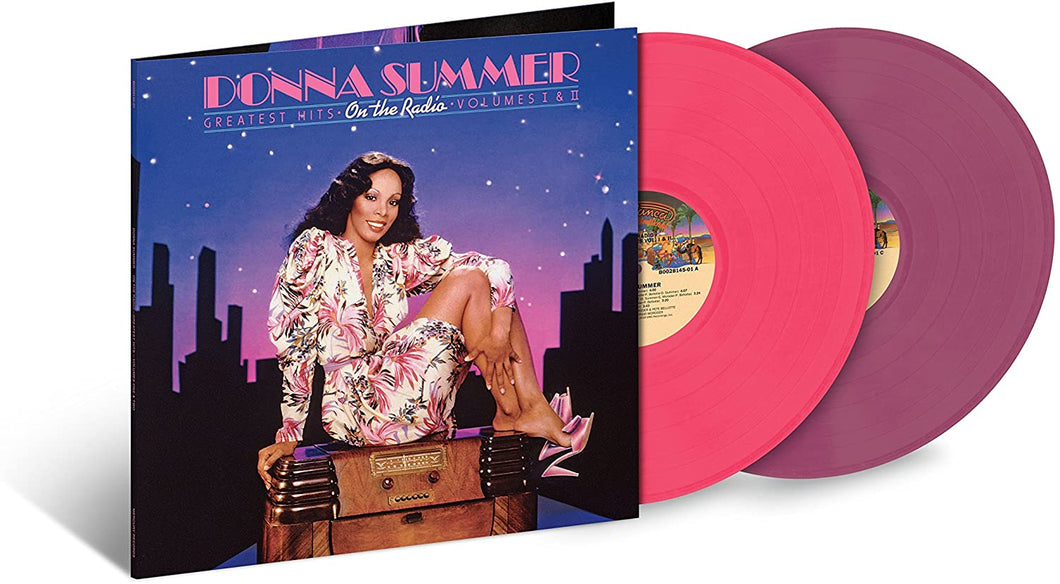 Donna Summer ‎– On The Radio: Greatest Hits Vol. I & II | Vinyl Doble Color Rosa y Lavanda