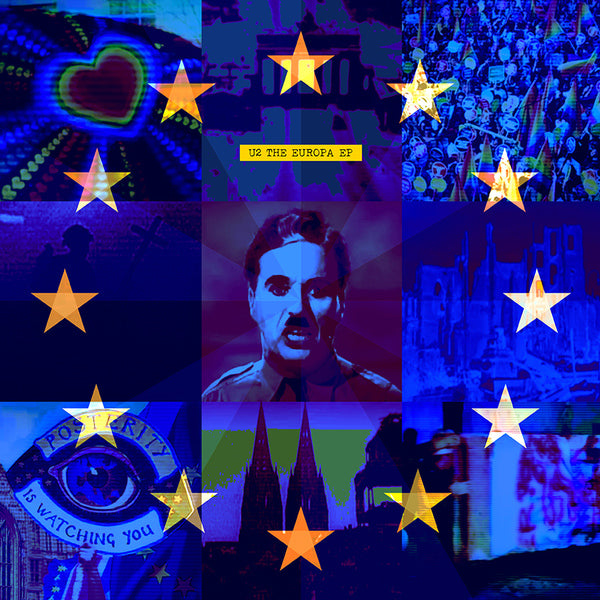 U2 ‎– The Europa EP [RSD19] Stickets + 4 Insertos
