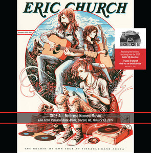 "Eric Church ‎– Mistress Named Music / Holdin' My Own | Single 7"" [RBF17]"