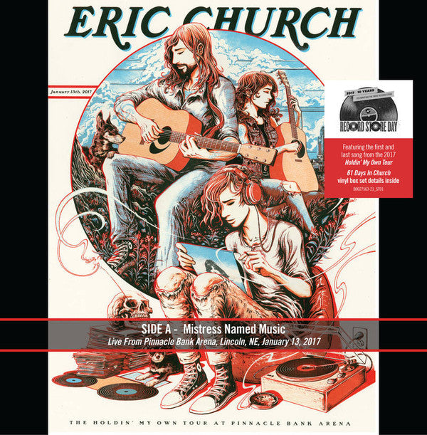 Eric Church ‎– Mistress Named Music / Holdin' My Own | Single 7