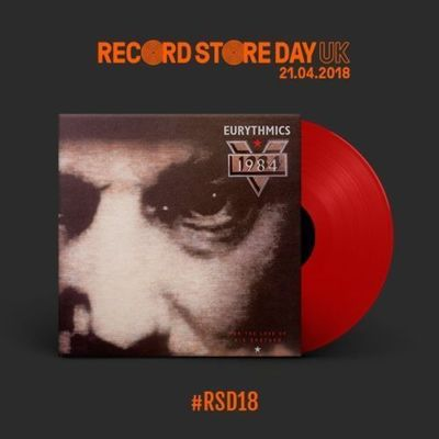 Eurythmics ‎– 1984 (For The Love Of Big Brother) | Vinyl Rojo [RSD18]