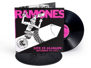 Ramones - Live In Glasgow December 19, 1977 | Vinyl Doble Edición Limitada [RBF18]