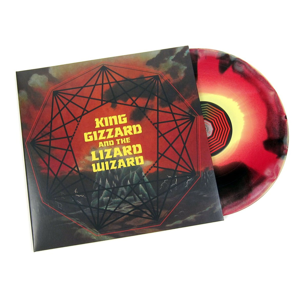 King Gizzard & The Lizard Wizard - Nonagon Infinity | Vinyl Splatter multicolor