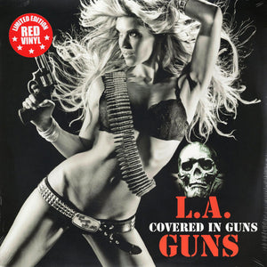 L.A. Guns ‎– Covered In Guns | Vinyl Edición Limitada Color Rojo