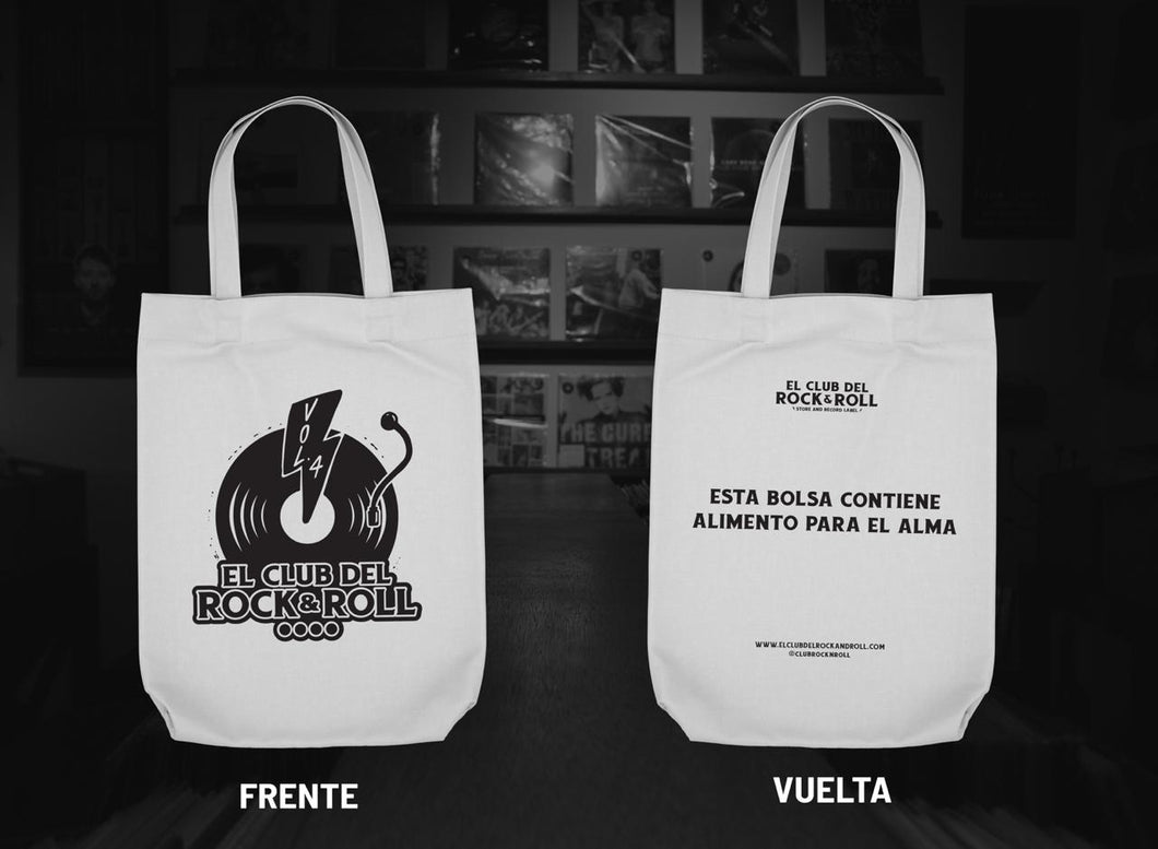 Tote Bag CRR - 4º Aniversario | Color Manta