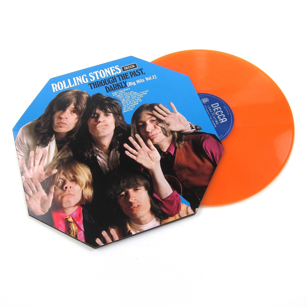 The Rolling Stones - Through The Past Darkly Big Hits Vol.2 | Vinyl Color Naranja [RSD19]