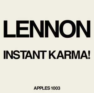 "Lennon/Ono with the Plastic Ono Band - Instant Karma! (2020 Ultimate Mixes) | Vinyl 7"" [RSDROP1]"