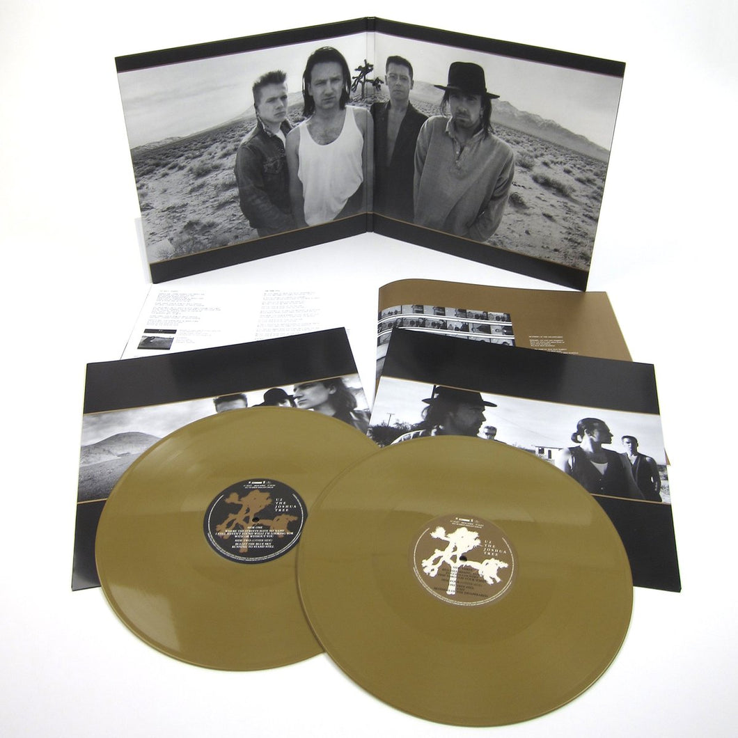 U2 - The Joshua Tree | Vinyl Doble Color Oro [RBF18]