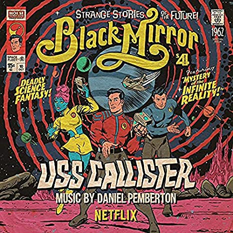 Daniel Pemberton ‎– Black Mirror - USS Callister (Original Soundtrack) | Vinyl Doble Color Rojo Edición Limitada [RSD19]