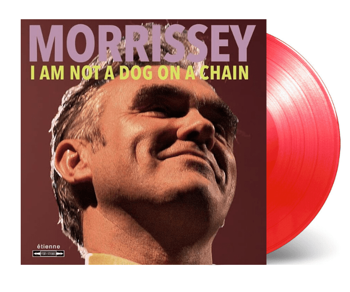 Morrissey ‎– I Am Not A Dog On A Chain | Vinyl Rojo Transparente