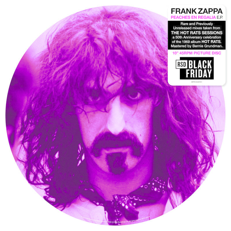 Frank Zappa - Peaches En Regalia | Picture Disc 10