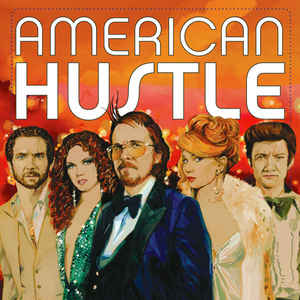 Various Artists - American Hustle (Original Motion Picture Soundtrack) | Vinyl Doble Rojo y Azul