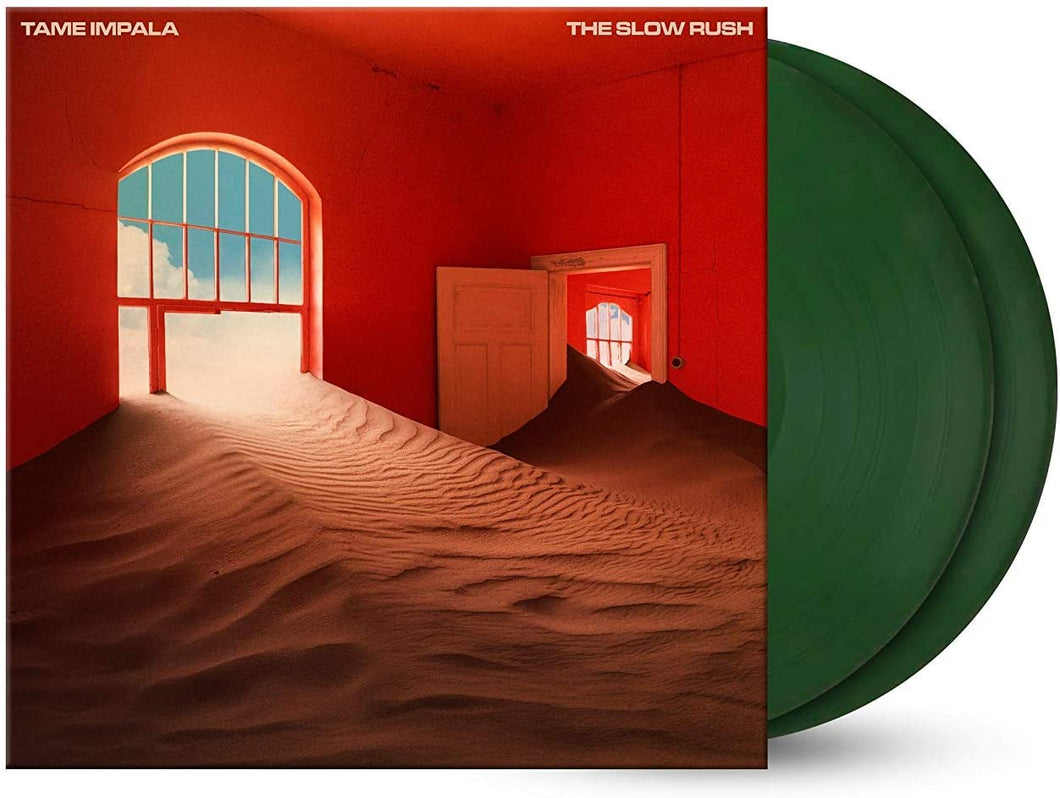 Tame Impala - The Slow Rush | Vinyl Doble Color Verde