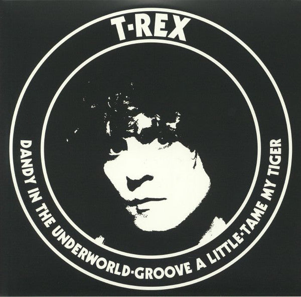 T. Rex ‎– Dandy In The Underworld (Reissue) | Vinyl Doble Color Rojo y Azul 10