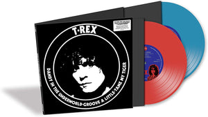 T. Rex ‎– Dandy In The Underworld (Reissue) | Vinyl Doble Color Rojo y Azul 10""
