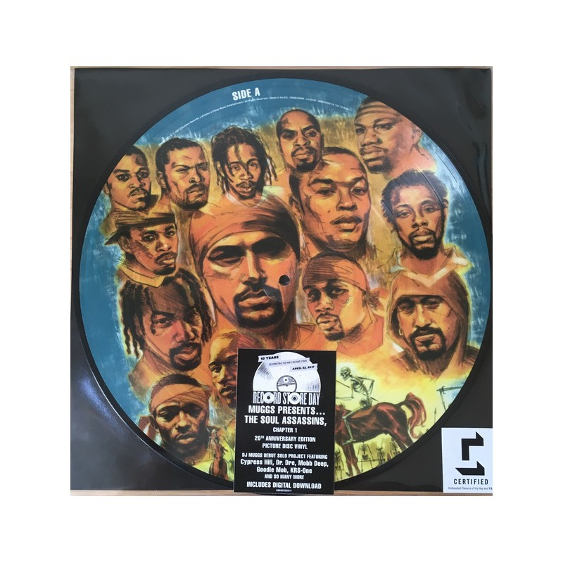 Muggs Presents The Soul Assassins - The Soul Assassins Capitulo 1 | Vinyl Picture Disc [RSD17]
