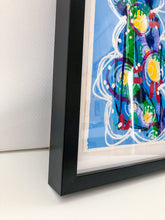 "Load image into Gallery viewer, ""Do it for you I "" Framed Art Painting,  Intuitive abstract painting on paper"