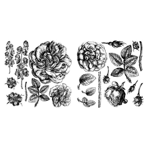Lady of Shalott' (2 sheets) IOD Decor Stamp (12″x12″)