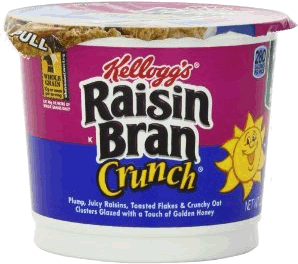 Kellogg's Raisin Bran Crunch Cereal 2.8 oz