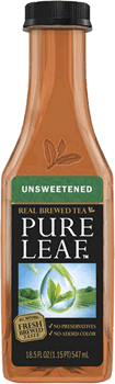 Pure Leaf UNSWEETENED Tea 18.5 oz