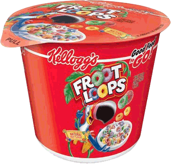 Froot Loops Cereal 1.5 oz