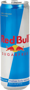 Red Bull SUGAR FREE 12oz