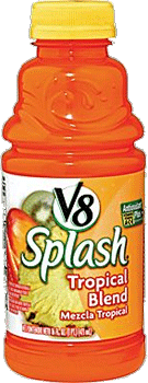 V8 Splash TROPICAL BLEND 16 oz