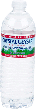 Crystal Geyser Spring Water 16.9 oz