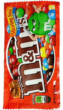 M&M's Peanut butter Share Size 2.8oz