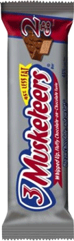 3 Musketeers 2 To Go 3.28 oz
