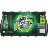 Perrier Water Sparkling Lime 16.9 oz 24 pk