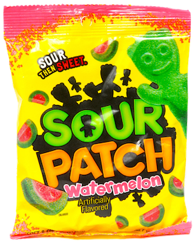 Sour Patch Kids WATERMELON 5 oz
