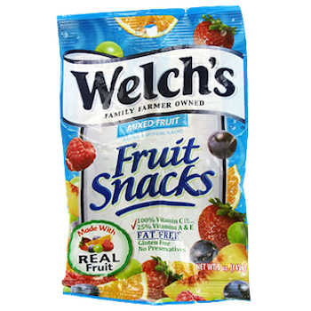 Welch's  MIXED FRUIT Fruit Snacks 5 oz