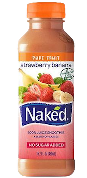Naked Strawberry Banana 15.2 oz