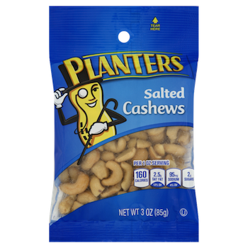 Planters Salted Cashews 3 oz